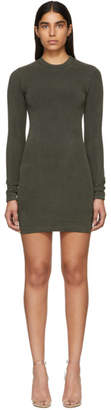 Yeezy Green Jersey Crewneck Dress