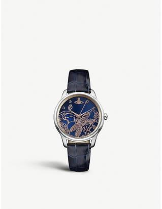 Vivienne Westwood VV197NVNV Fitzrovia stainless steel watch