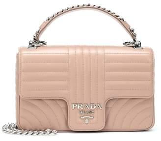 Prada Frame leather shoulder bag