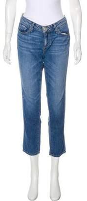 Paige Jimmy Jimmy Crop Mid-Rise Jeans