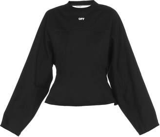 Off-White Off White Silhouette Crewneck Sweatshirt