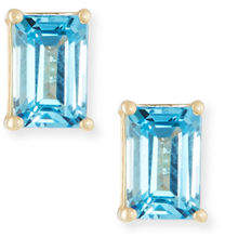 Suzanne Kalan KALAN by 14k Gold Emerald-Cut Stud Earrings