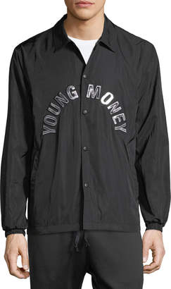 Young Money Coaches Snap-Front Jacket
