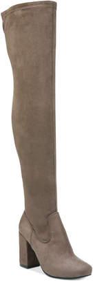 Carlos by Carlos Santana Rumor Over-The-Knee Block-Heel Boots $99 thestylecure.com