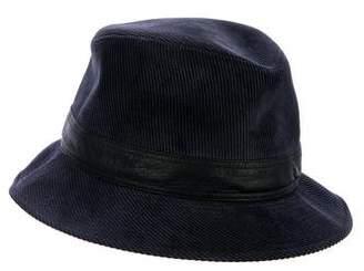 Hermes Corduroy Bucket Hat