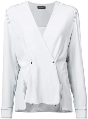 Rag & Bone long-sleeve fitted blouse