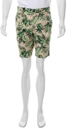 Moncler Floral Print Shorts w/ Tags