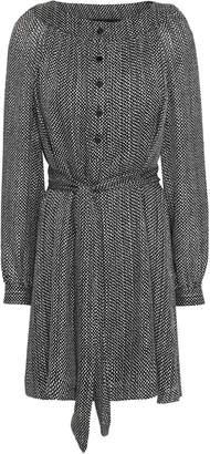 Vanessa Seward Printed Silk-georgette Mini Dress