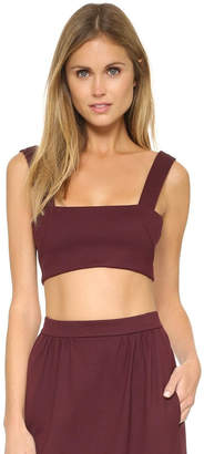 Torn By Ronny Kobo Shandi Bordeaux Top