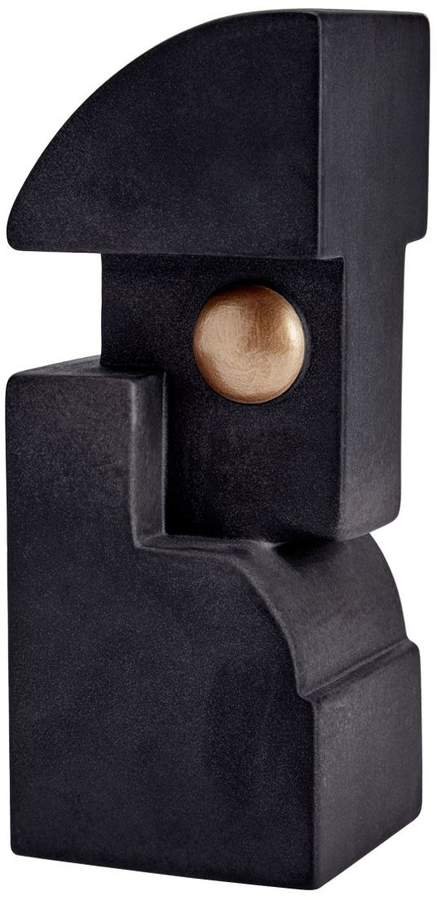 Cubisme Earthenware Bookend