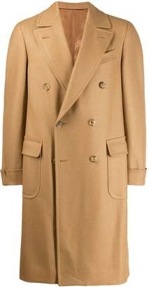 Caruso double-breasted coat