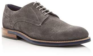 Ted Baker Men's Lapiin Perforated Suede Plain Toe Oxfords