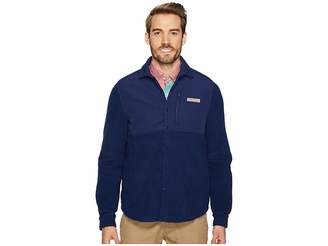 Vineyard Vines Shirt Jacket Snap Fleece Men's Fleece