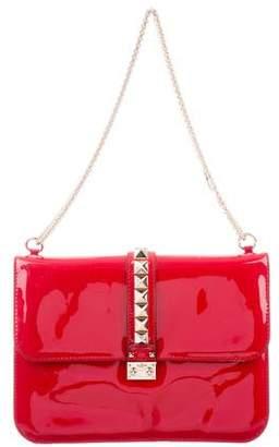 Valentino Large Rockstud Glam Lock Bag