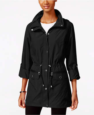 Style & Co Hooded Anorak Jacket, Only at Macy's $69.50 thestylecure.com