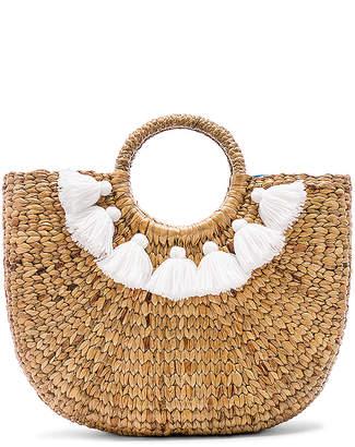 JADEtribe Small 7 Tassel Basket