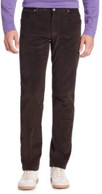 Saks Fifth Avenue COLLECTION Five-Pocket Cord Pants