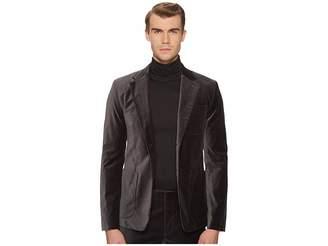 Vince Velvet Patch Pocket Blazer Men's Jacket