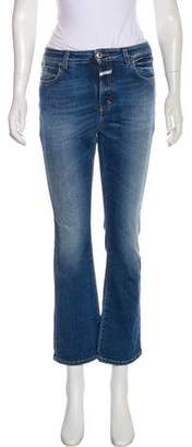 Closed High-Rise Straight-Leg Jeans