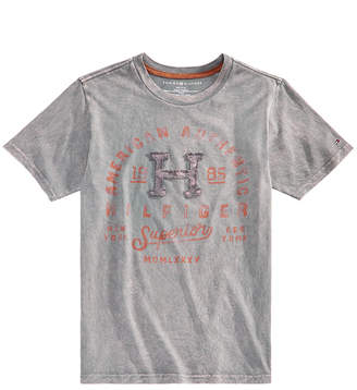 Tommy Hilfiger Little Boys Graphic-Print Cotton T-Shirt