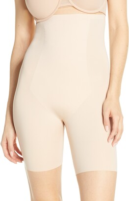8693332600a Spanx R) Thinstincts High Waist Mid Thigh Shorts
