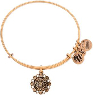 Alex and Ani (アレックス アンド アニ) - Alex and Ani Lotus Adjustable Wire Bangle