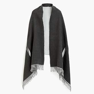 J.Crew Reversible cape-scarf