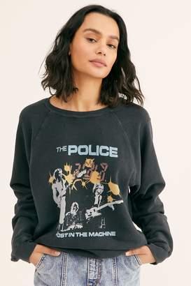 Original Retro Brand Black Label The Police Pullover