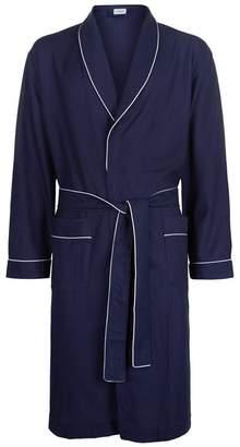 Zimmerli Textured Stripe Robe