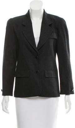 Christian Dior Structured Notch-Lapel Blazer