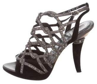 Christian Dior Cage Sandals