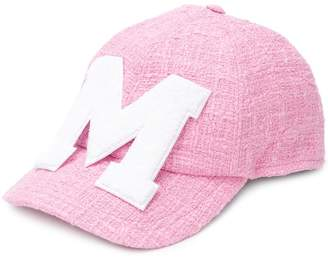 MSGM terry patch baseball cap