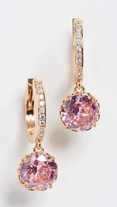 Kate Spade Pave Huggie Earrings