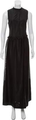 The Row Sleeveless Textured Dress
