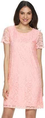 Juicy Couture Women's Lace Shift Dress