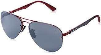 Ray-Ban Men's 0rb3460mf009h259metal Man Polarized Iridium Aviator Sunglasses