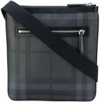 Burberry Leather Trim London Check Crossbody Bag 5344ff721de7a
