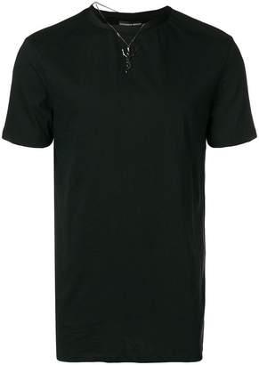 Alexander McQueen dancing skull necklace T-shirt