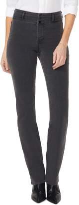 NYDJ Marilyn Paneled Straight Leg Jeans