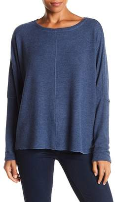 H By Bordeaux Brushed Dolman Pullover Sweater