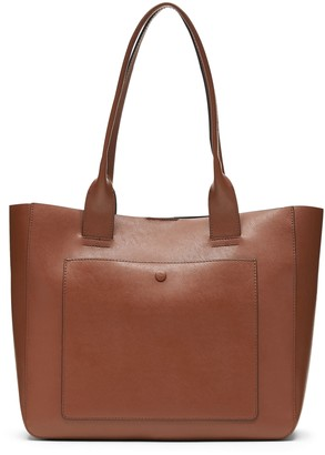 Banana Republic Leather Large East-West Tote