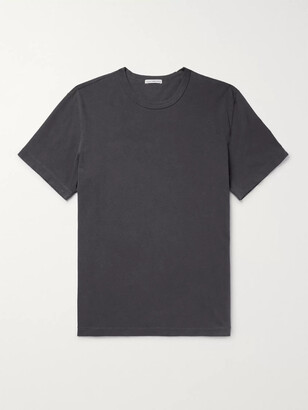 James Perse Combed Cotton Jersey T-Shirt - Men - Gray