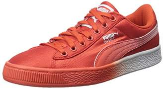 Puma Women's Basket Classic Mesh Fade Sneaker