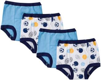 Gerber Toddler Boys' 4 Pack Training Pants