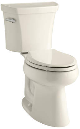 Kohler Highline Comfort Height Two-Piece Elongated 1.6 GPF Toilet with Class Five Flush Technology and Left-Hand Trip Lever