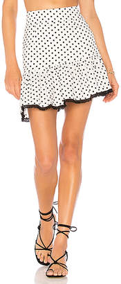 SUBOO Over & Over Frill Mini Skirt