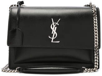 Saint Laurent Large Monogramme Sunset Chain Bag
