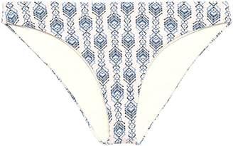 Eberjey Annia Printed Low-rise Bikini Briefs