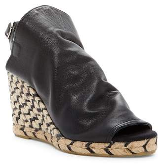 Patricia Green Cher Leather Espadrille Wedge