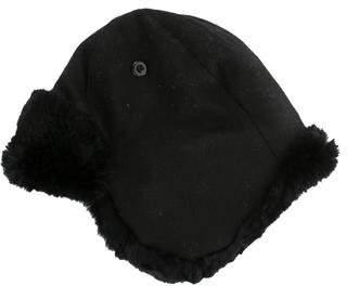 Crown Cap Faux Fur Trimmed Trapper Hat